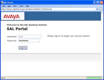 AlarmTraq™ How It Works: Avaya SAL (Secure Access Link